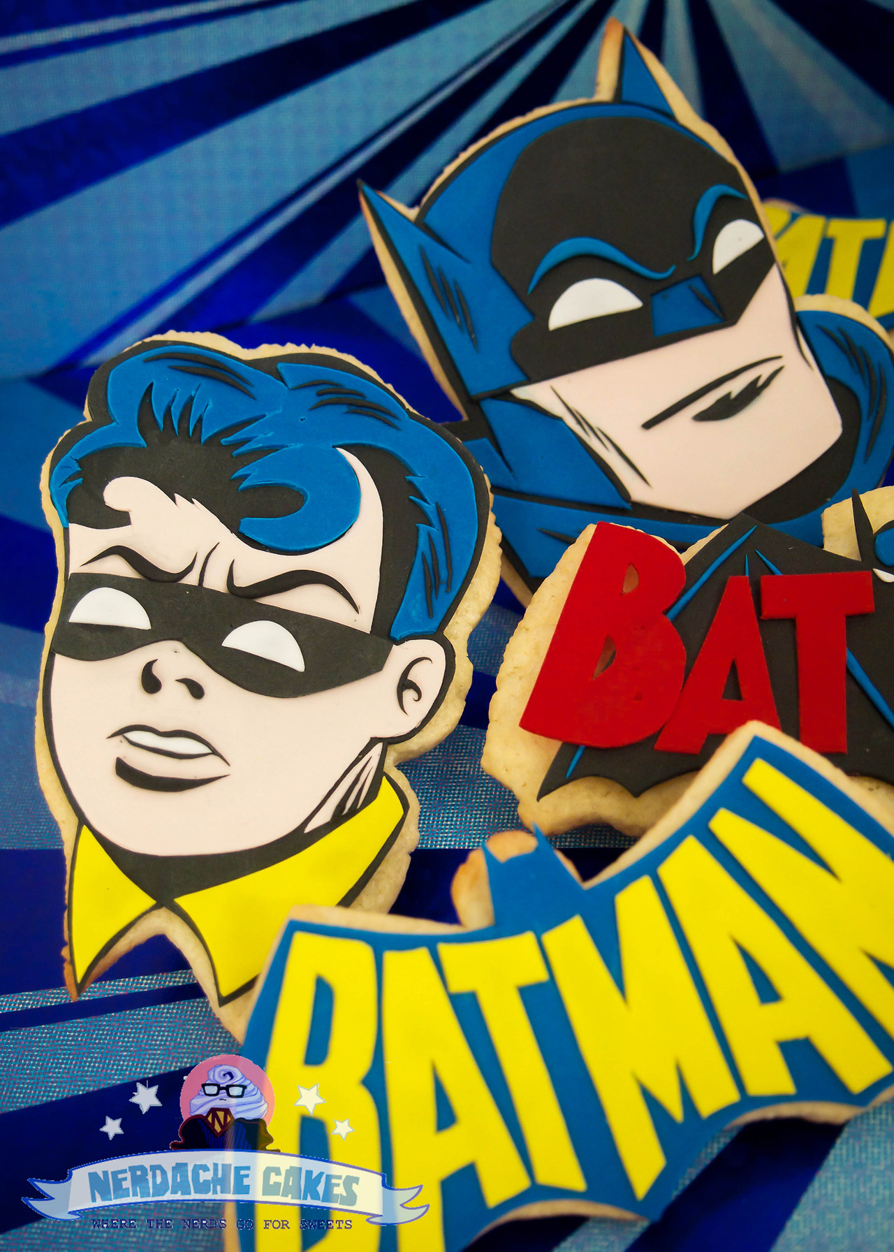 Batman and Robin Cookies