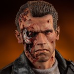 Battle Damaged T 800 Premium Format Figure 004