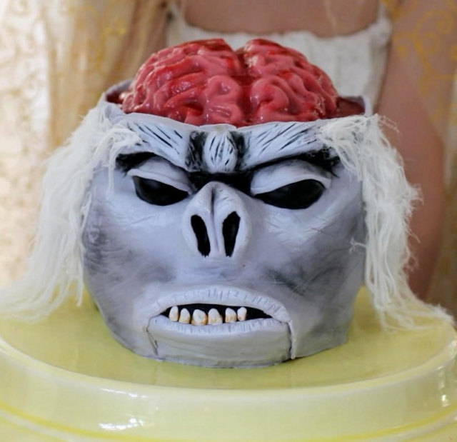 Chilled Monkey Brains Cake