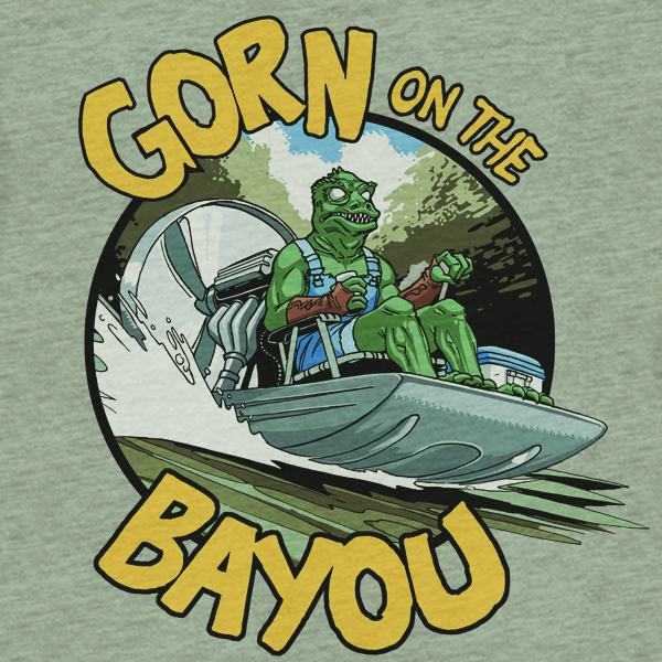 Gorn On The Bayou Art