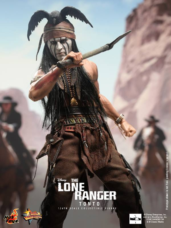 hot toys reveals tonto from lone ranger movie the toyark