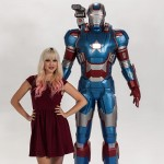 Iron Patriot Life Size Figure 005