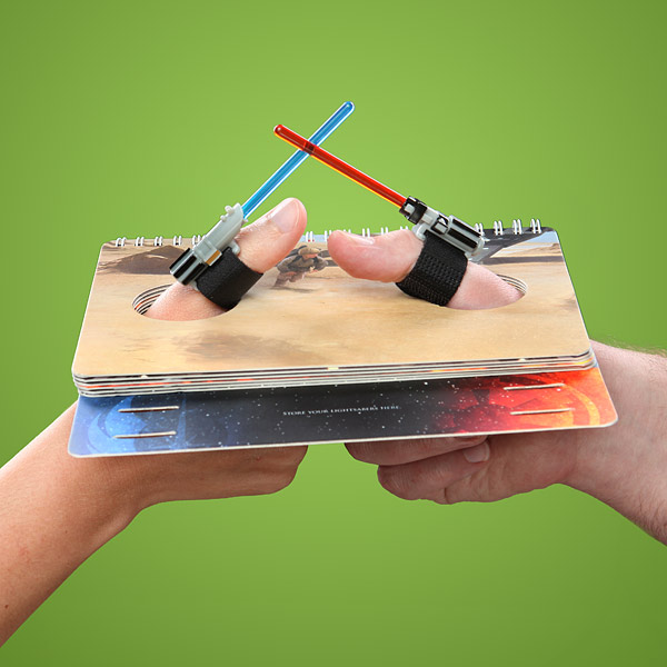 Lightsaber Thumb Wars