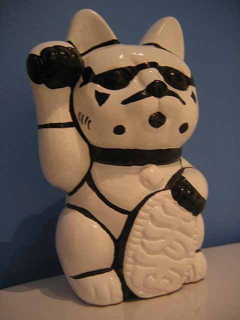 Lucky Cat Stormtrooper