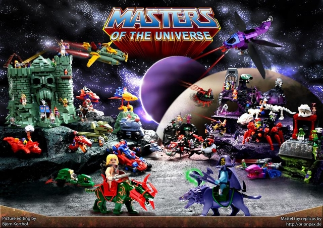 Masters of the Universe LEGO