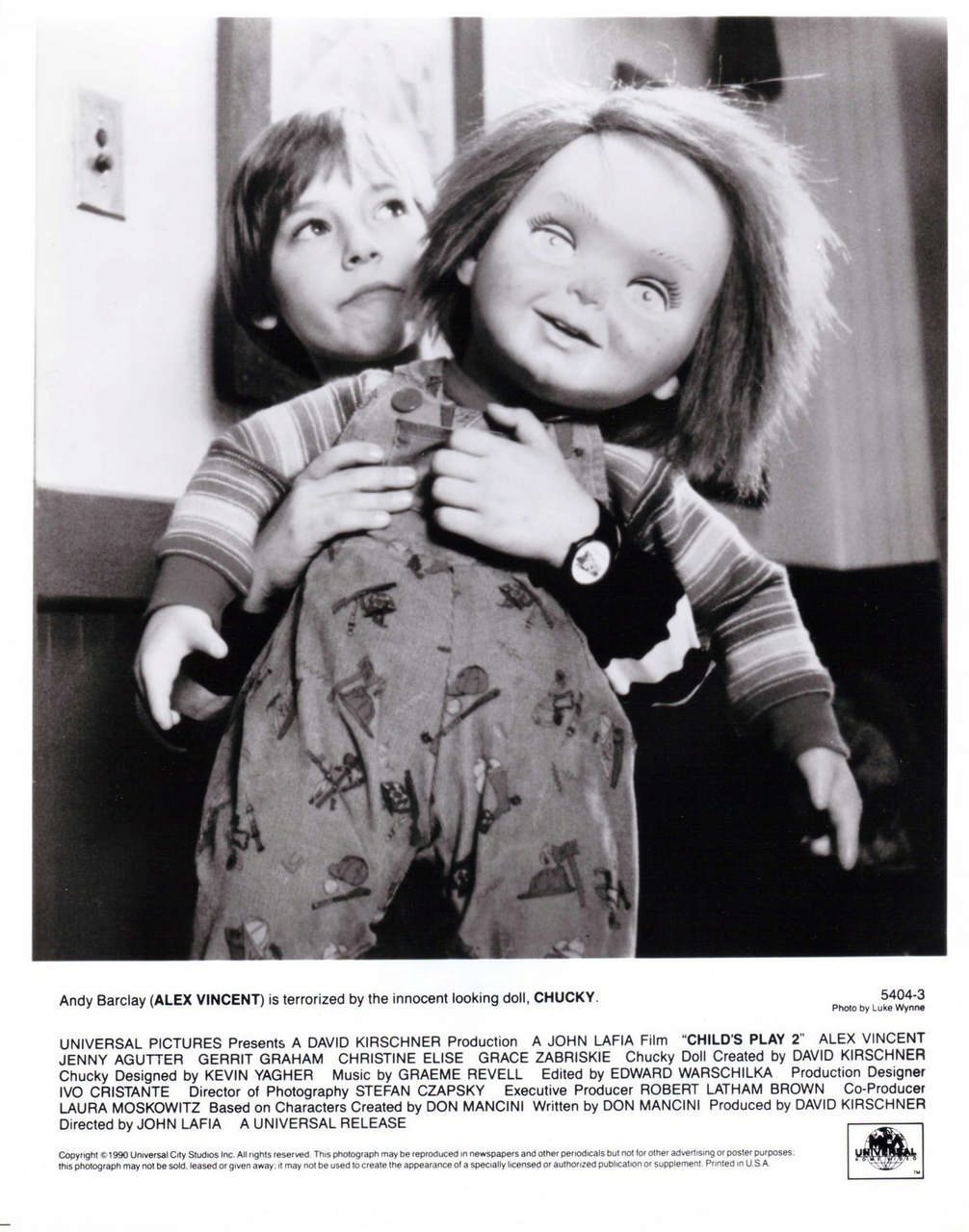 image from Child's Play 2 shows scale of Chucky vs human.