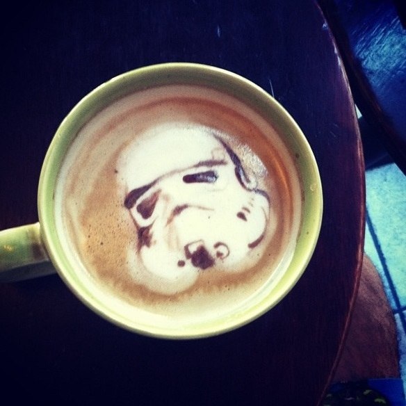 Star Wars Latte