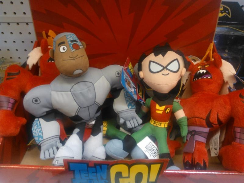 Teen Titan Character Toys : New teen titans go figures found at retail the toyark news