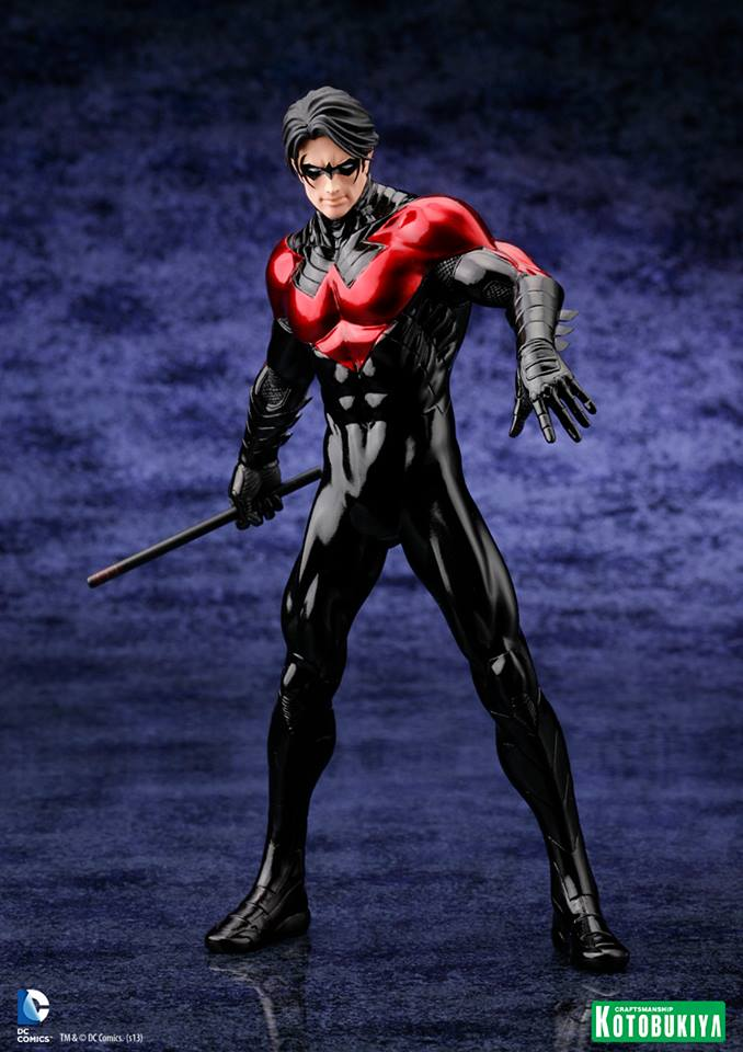 Kotobukiya New 52 Nightwing ARTFX Statue Revealed - Additional ImagesDick Grayson New 52 Nightwing