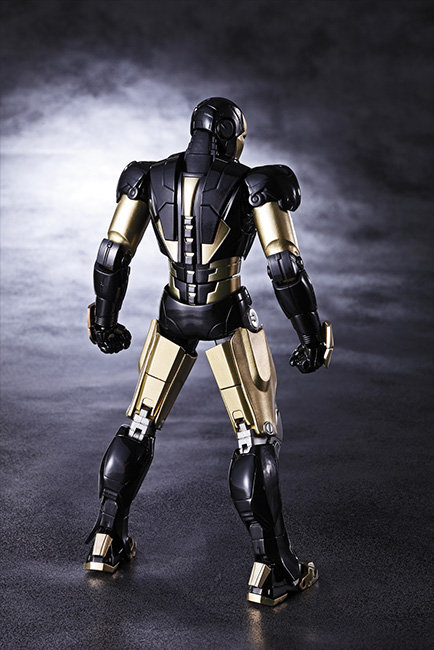 sh figuarts iron man mark 6 black 3