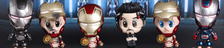 Iron Man 3 Cosbaby Series 2 Hot Toys 001