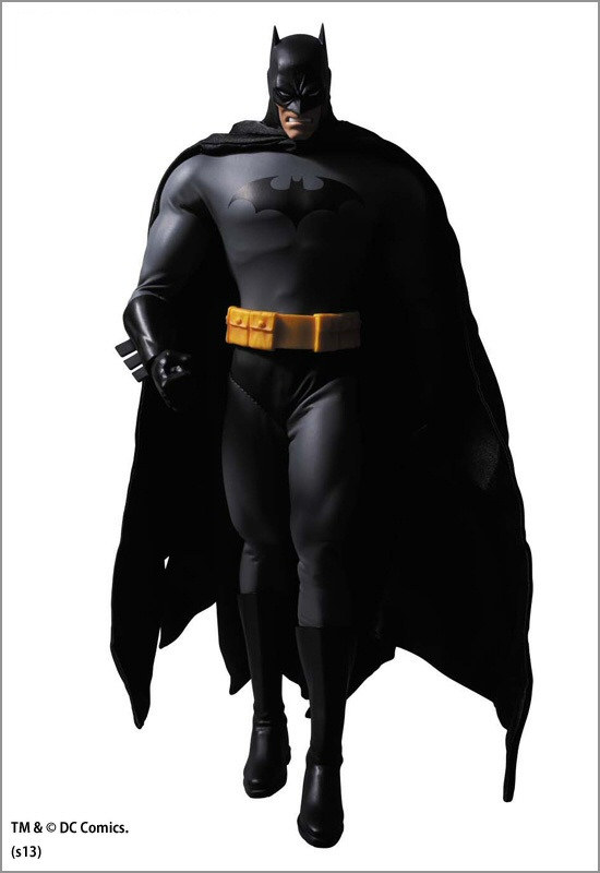 Medicom Real Action Hereoes Hush Batman-Black Suit Version