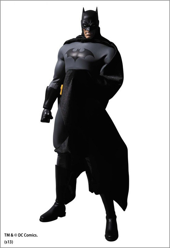Medicom Real Action Heroes Hush Batman-Black Suit Version