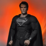 NECA Black Suit Superman 001