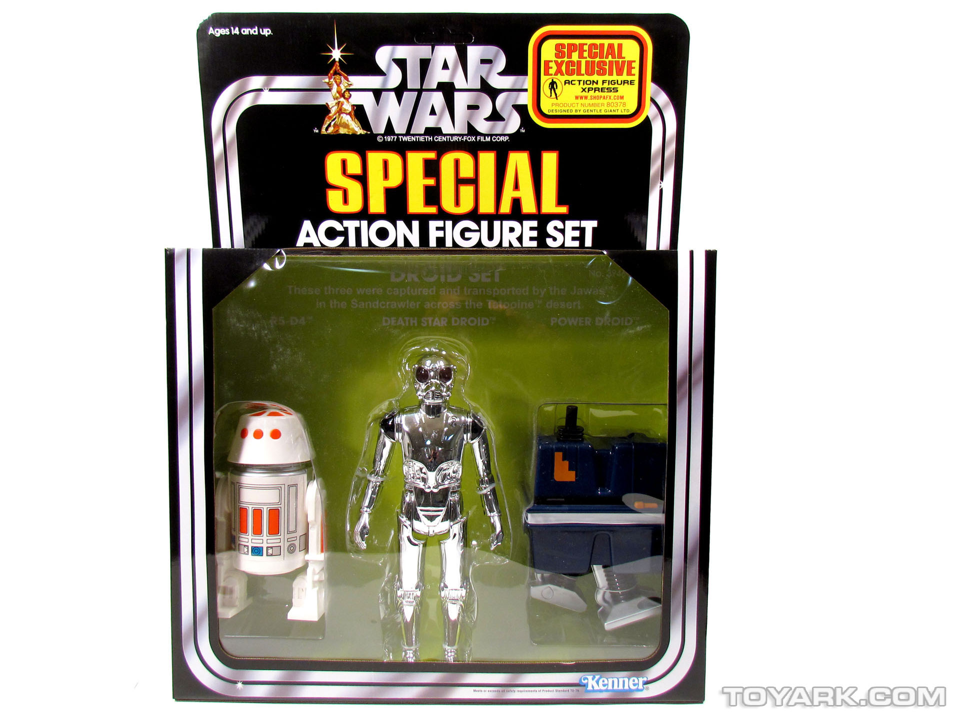 Star Wars Jumbo Kenner Droid Special Set 001