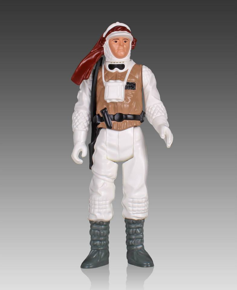 Star Wars Jumbo Kenner Hoth Luke Skywalker 002