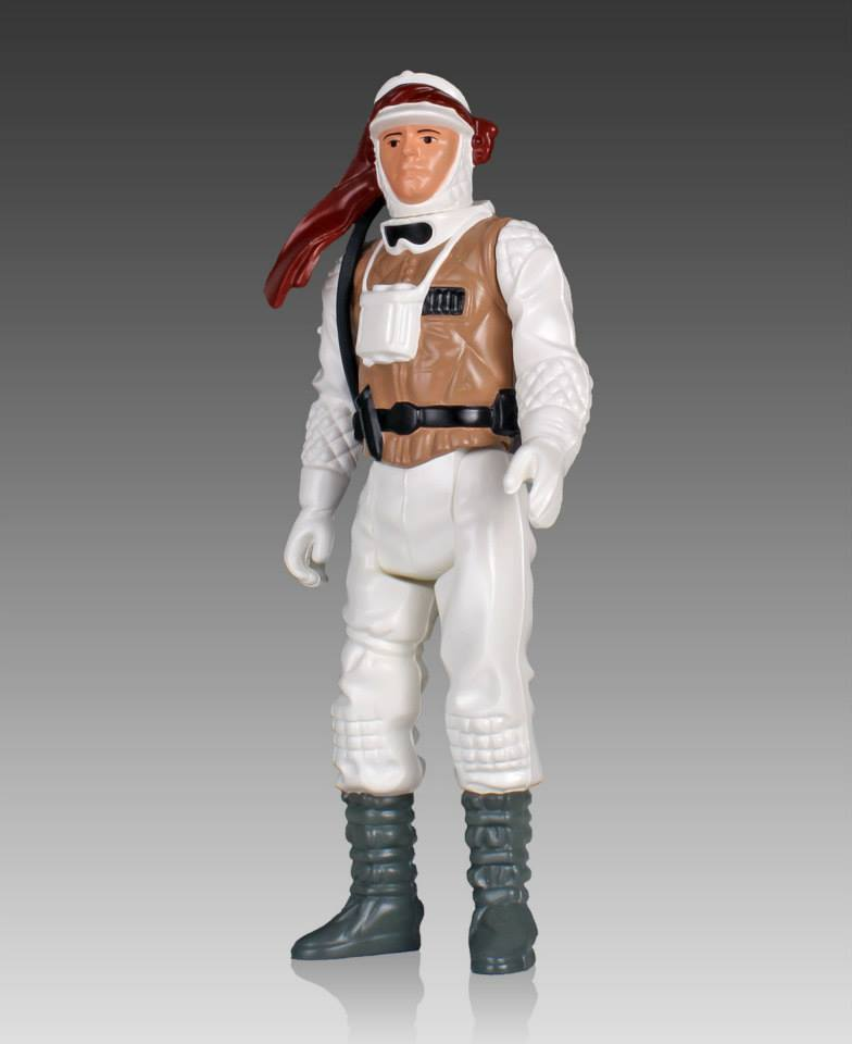 Star Wars Jumbo Kenner Hoth Luke Skywalker 003