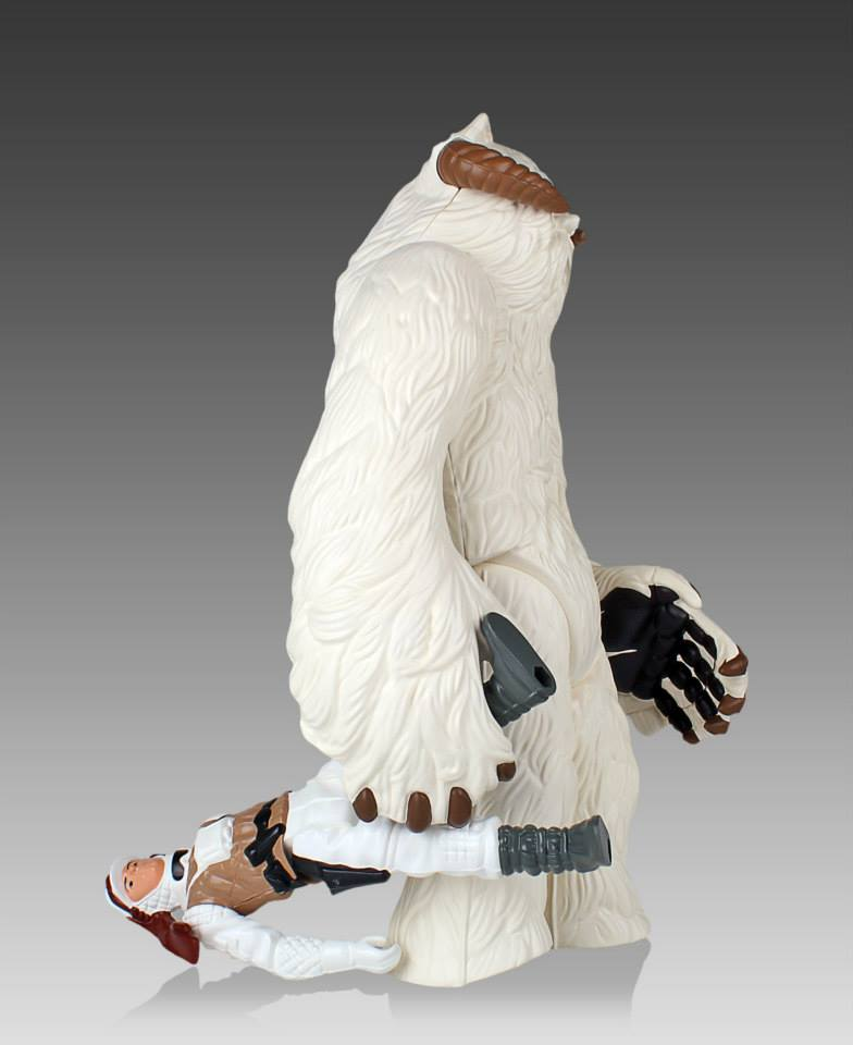 Star Wars Jumbo Kenner Wampa 008
