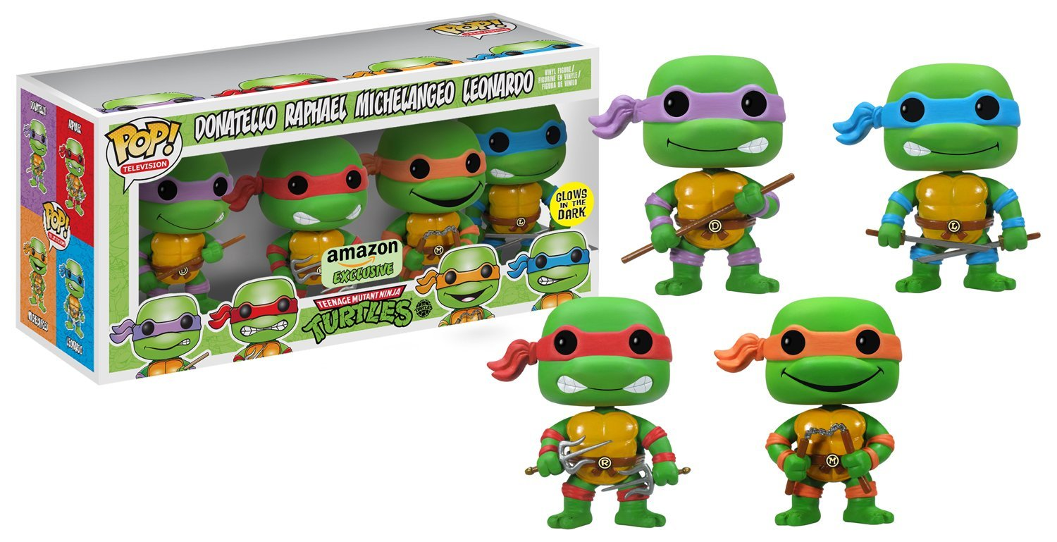 TMNT Amazon Exclusive Pop Vinyl