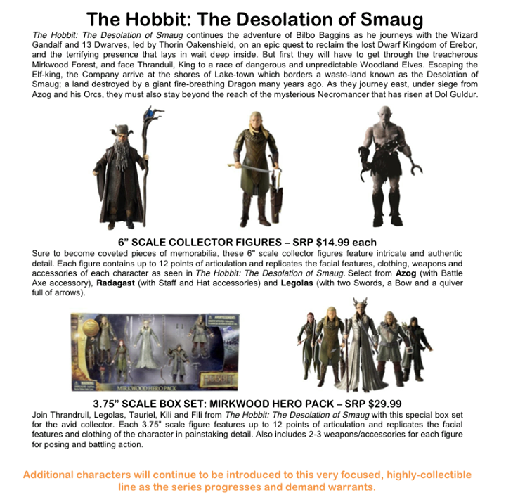 The Hobbit Desolation of Smaug at TRU