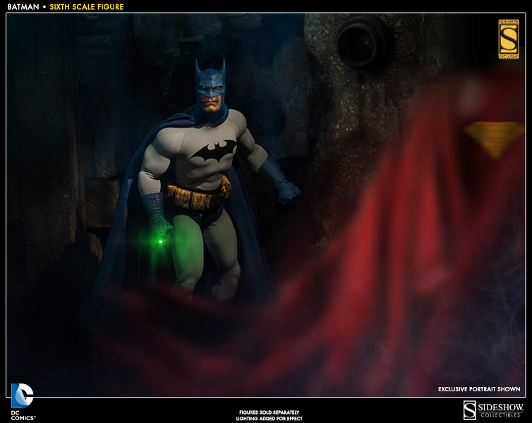 [Sideshow] DC Comics: Superman Sixth Scale - LANÇADO!!! - Página 2 Sideshow-batman-sixth-scale-2