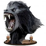 American Werewolf In London Concept Bust