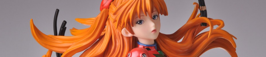 Asuka Plug Suit Gathering Pre Painted Kit 008
