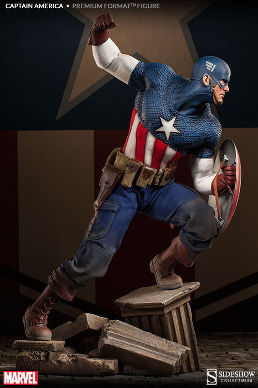 [Sideshow] Premium Format | Captain America: The Winter Soldier - Página 4 Captain-America-Premium-format-Figure-003