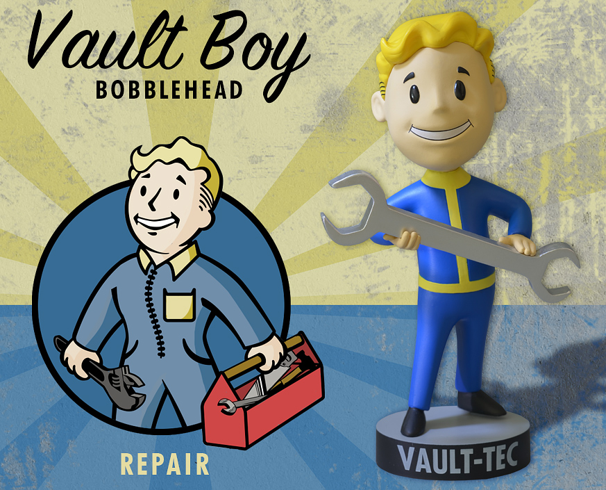 Vault Boy Avatar Gaming Heads Vault Boy Repair
