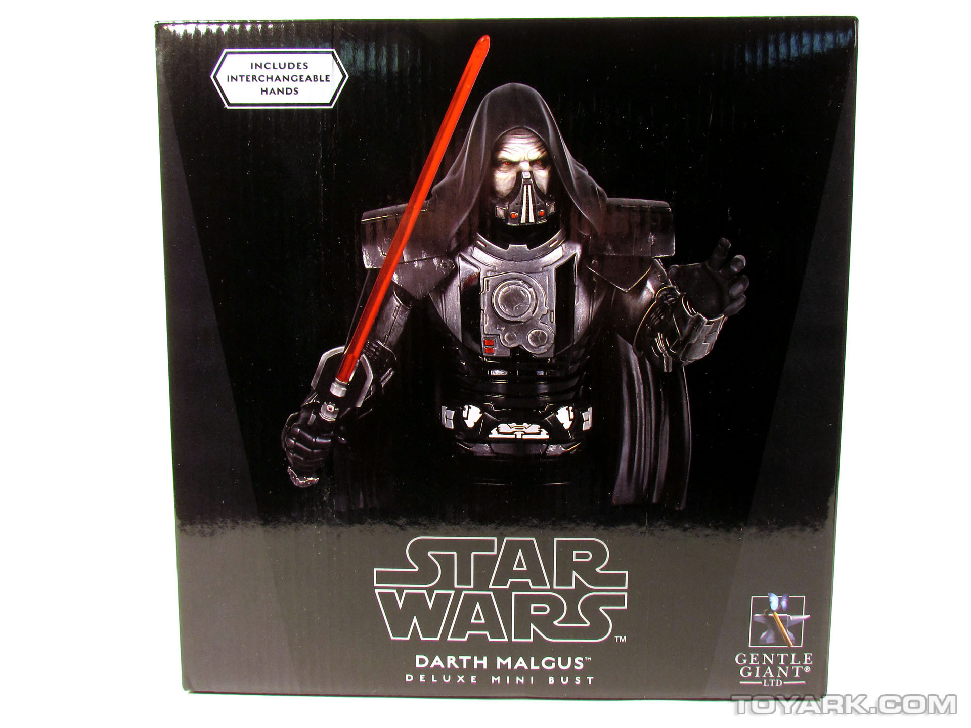 Gentle Giant Darth Malgus Bust 001