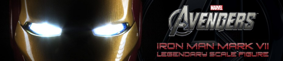 Iron Man Mark VII Legendary Scale Figure Preview
