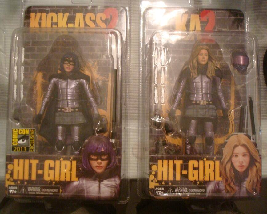"[NECA] Kick Ass 2 - 7"" action Figures Kick-Ass-2-Series-2-Hit-Girl"