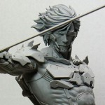 MGR Raiden Gathering Model Kit In Progress