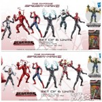 Marvel Spider Man Legends Infinite Series Swap Figures