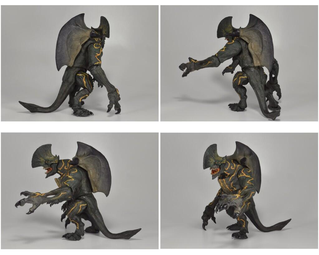NECA Previews Pacific Rim Battle Damaged Knifehead and ...
