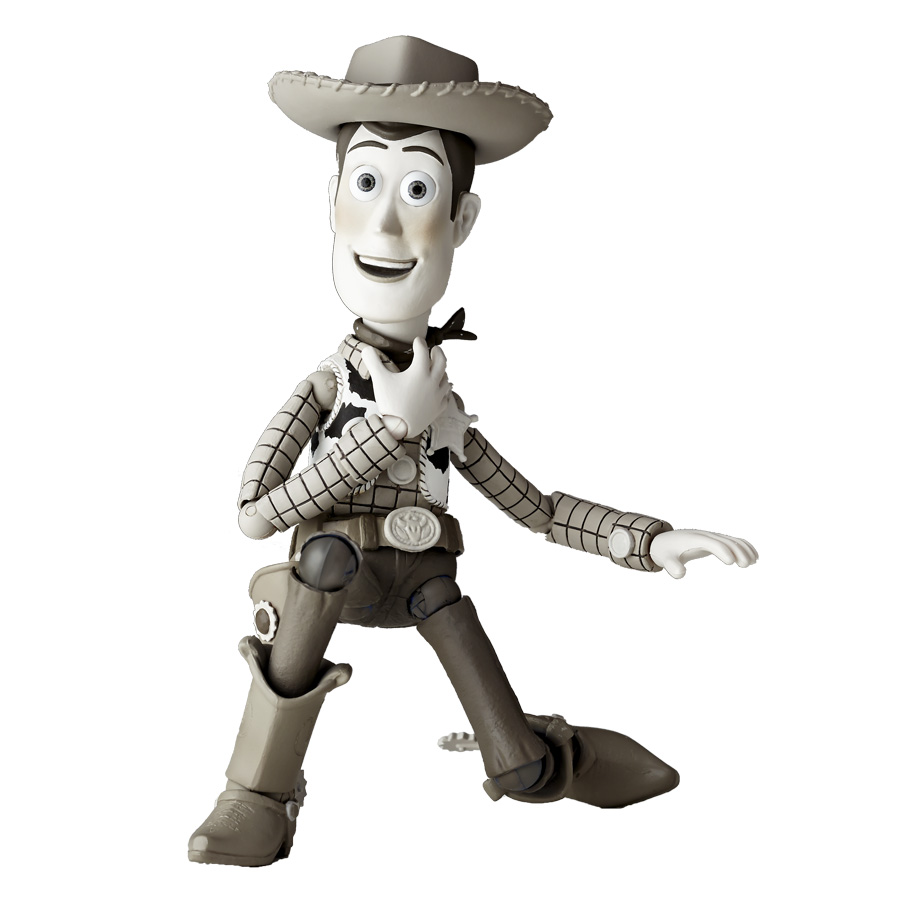 Revoltech Toy Story Woody and Jessie Black and White Versions - The ...