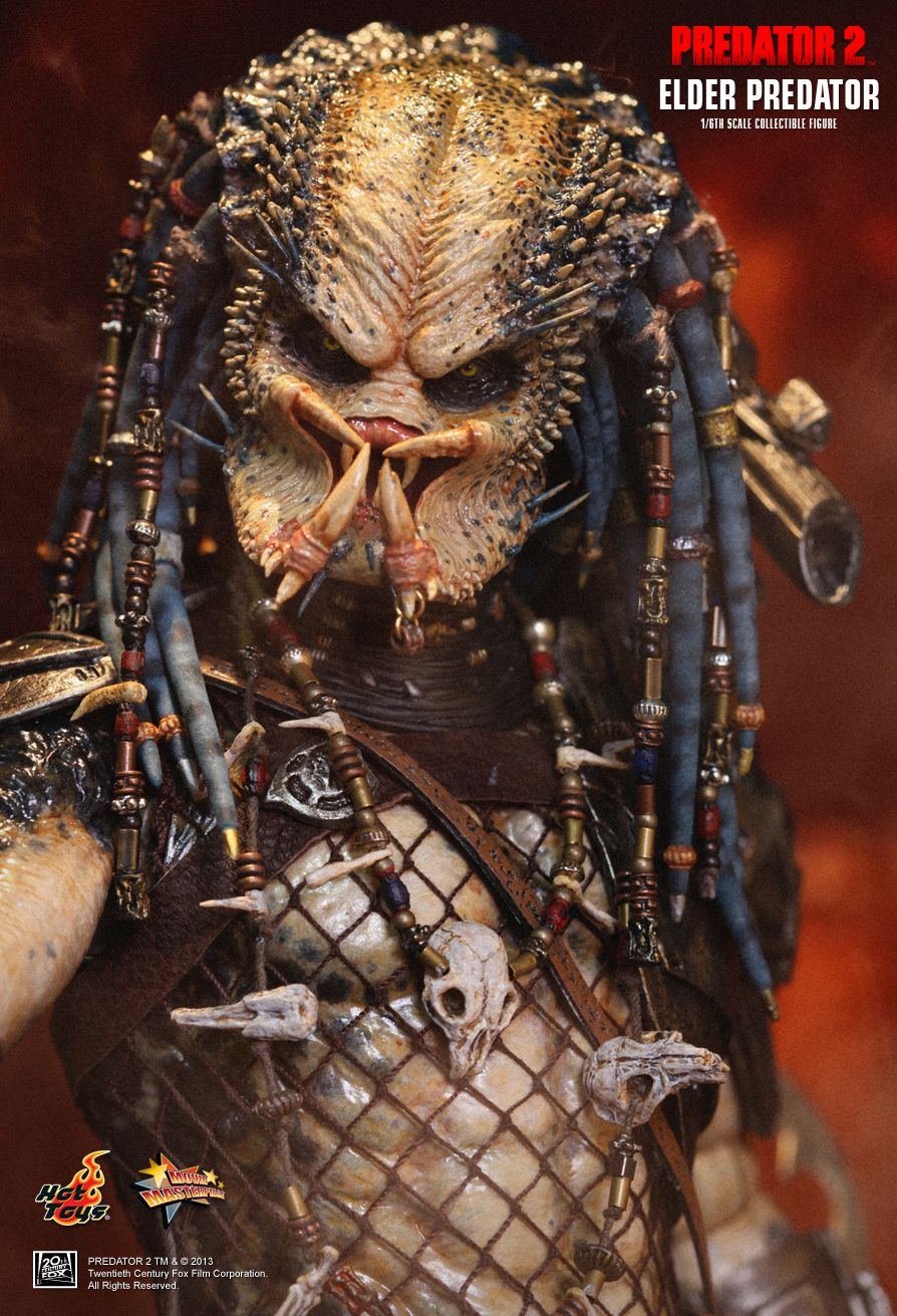 hot toys predator 2 elder predator figure the toyark news