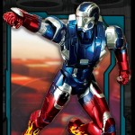 Iron Man Hot Rod Armor Action Hero Vignette 1