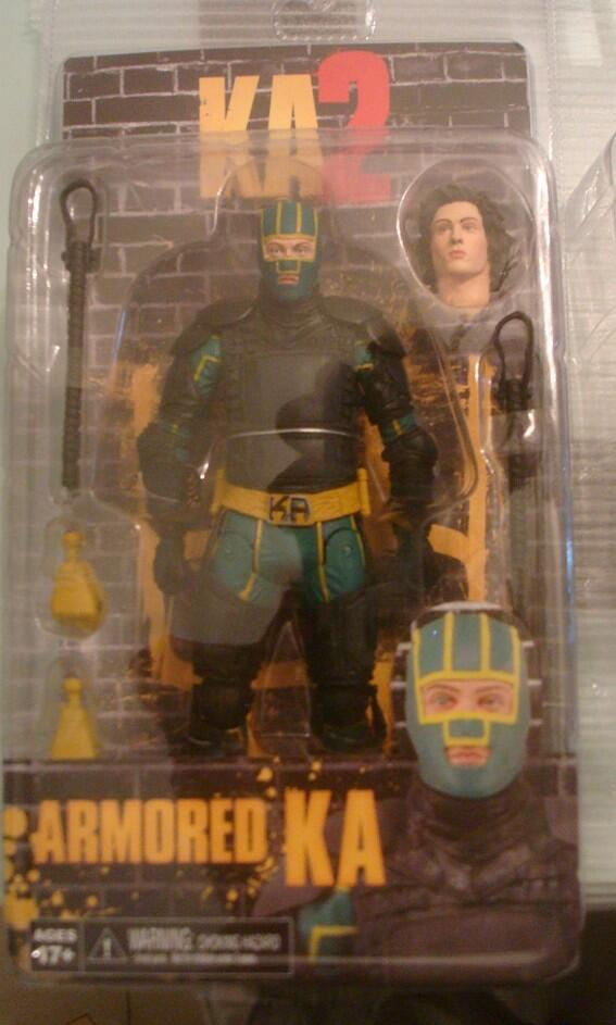 "[NECA] Kick Ass 2 - 7"" action Figures Kick-Ass-2-Armored-Kick-Ass-Carded"
