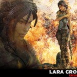 Lara Croft Survivor Statue 001