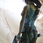 Lara Croft Survivor Statue 015