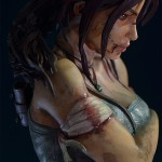 Lara Croft Survivor Statue 016