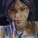 Lara Croft Survivor Statue 017