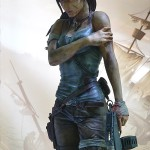 Lara Croft Survivor Statue 018