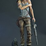 Lara Croft Survivor Statue 026