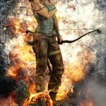 Lara Croft Survivor Statue 028
