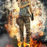 Lara Croft Survivor Statue 029