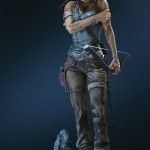 Lara Croft Survivor Statue 031