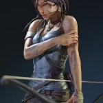 Lara Croft Survivor Statue 032