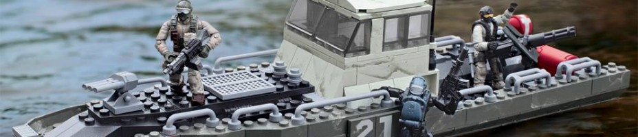 Mega Bloks Call Of Duty Coastal Intercept